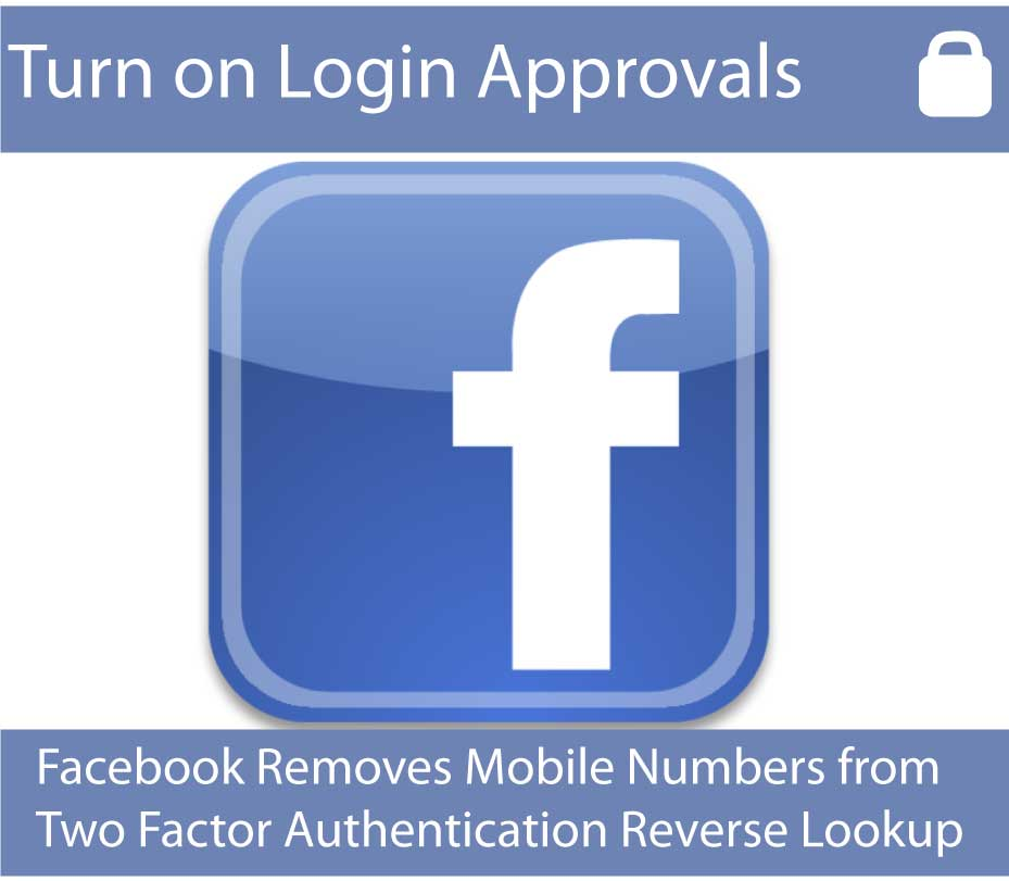 Facebook login approval two factor authentication
